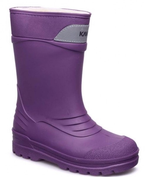 buy popular 9c973 a8b62 Kavat SLASK lila Winter Thermo Gummistiefel gefüttert