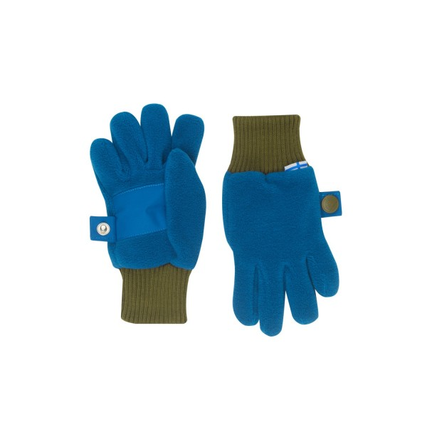 Finkid SORMIKAS seaport/beech Fleece Fingerhandschuhe