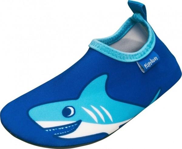 Kinder Badeschuhe Barfuß-Schuhe Hai blau
