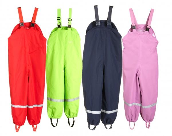 BMS atmungsaktiv Kinder Regenlatzhose Matschhose mit Trägern