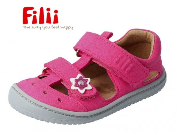 Filii KAIIMAN pink Mädchen Sandalen mit Blume