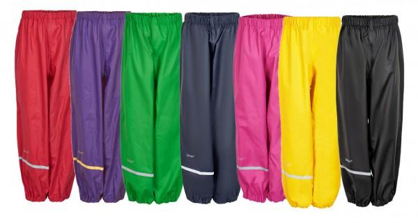 Celavi Kinder Regenhose Bundhose mit Gummizug