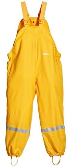 BMS Thermo Matschhose gelb mit Fleecefutter