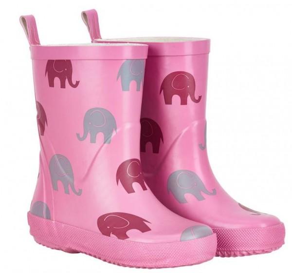 CeLaVi Gummistiefel Naturkautschuk rosa Elefanten
