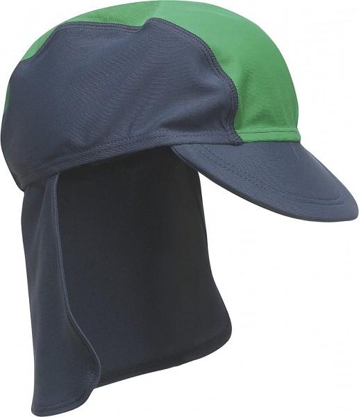 UV Schutz Strandhut Bademütze Sonnenmütze marine / grün
