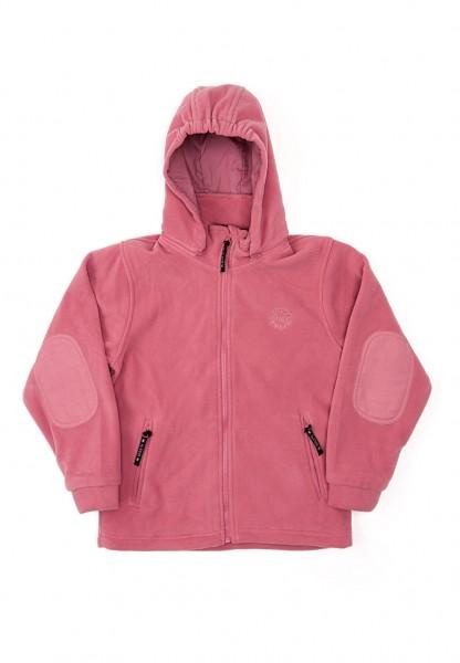 BMS Fleecejacke cerise rosa Antarctic-Fleece mit Kapuze