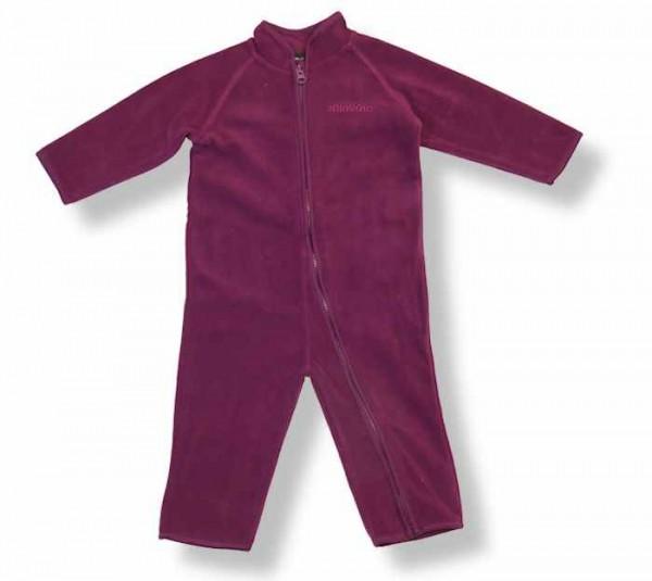 Celavi Baby Fleece-Overall Winn91 dark purple