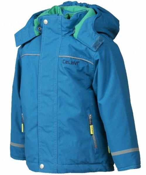 CELAVI Winterjacke mykonos blue Outdoorjacke atmungsaktiv