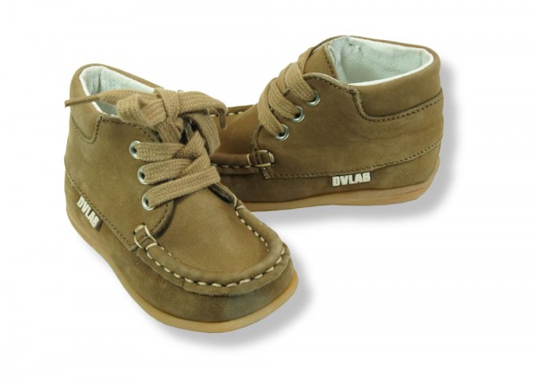 Develab Lauflernschuhe Leder extra weich Mokassins light brown