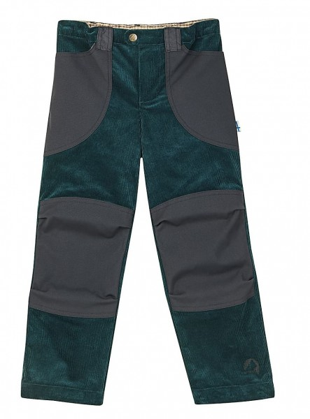 Finkid KILPI deep teal Kinder Outdoorhose im Workerstil