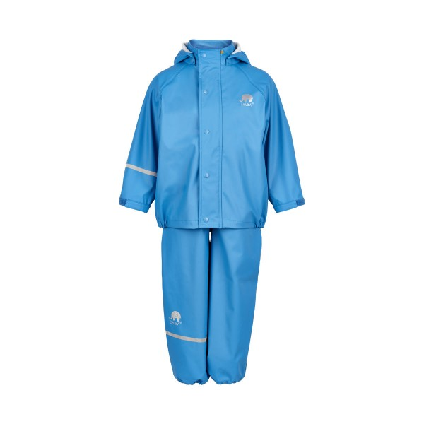 CeLaVi Regenanzug hellblau Regenhose + Regenjacke