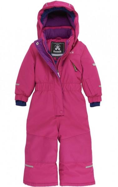 KAMIK Schneeanzug Merlin superhero pink Skianzug atmungsaktiv