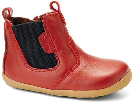 Bobux Jodphur Boots rot Lauflernschuhe Step Up Stiefelchen