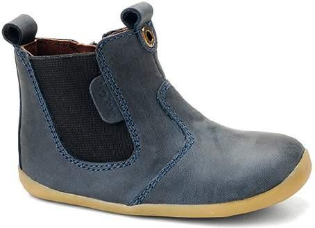 Bobux Jodphur Boots navy Lauflernschuhe Step Up Stiefelchen