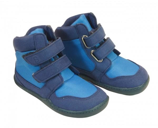 bLifestyle KOALA blau Winterboots vegan mit Minimalsohle