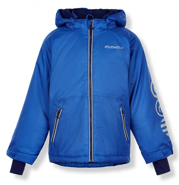 MINYMO Kinder Winterjacke Le90 nautical blue
