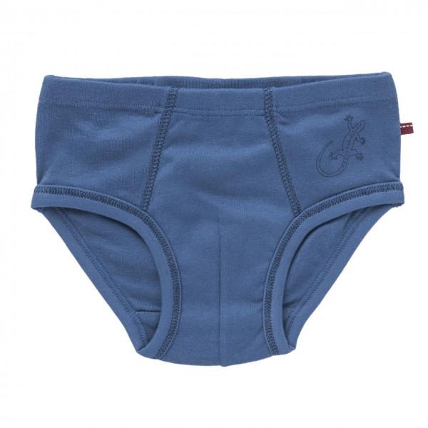 Jungen Unterhose jeansblau Leguan Slip
