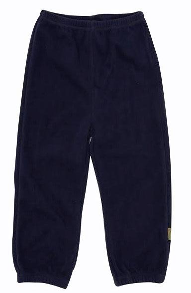 Celavi Kinder Fleecehose in navy