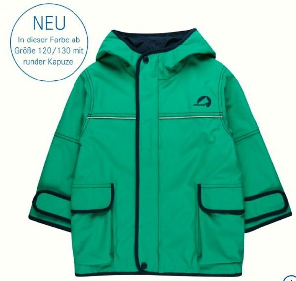 Finkid Jacke Tuulis emerald/navy Zip In Outdoorjacke atmungsaktiv