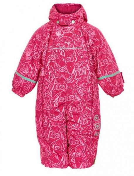 Celavi Schneeanzug pink Rabbit mit Doppelzipper