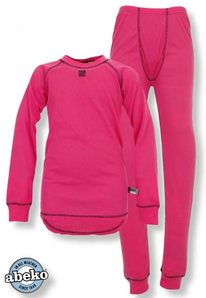 Abeko Mädchen Funktionsunterwäsche Newton pink