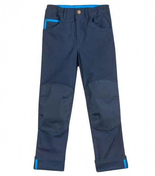 Finkid Kuusi Canvas navy verstärkte 5-Pocket Hose