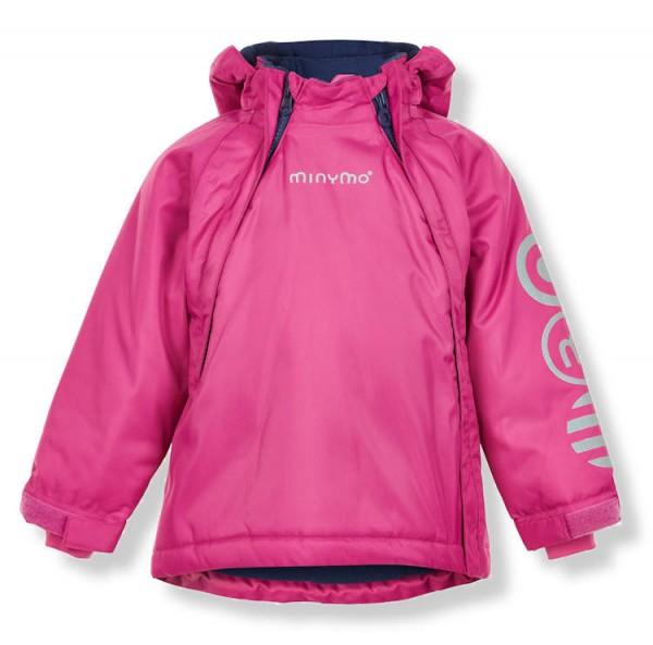 Minymo Mädchen Winterjacke Le93 Funktionsjacke pink