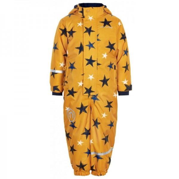Minymo Kinder Skianzug wasserdicht yellow Stars Oxford