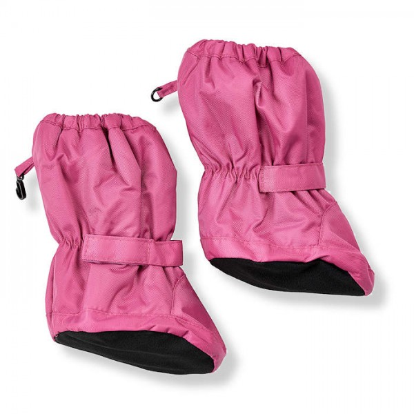 Minymo Footies Thermo Booties Le95 pink gefütterte Stiefelchen