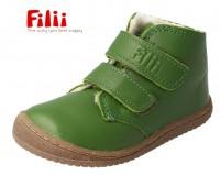 Filii Soft-FEET Winterboots leaf grün BIO Leder mit Wollfutter