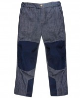 Finkid Kuukkeli Cargohose Outdoorhose denim/navy
