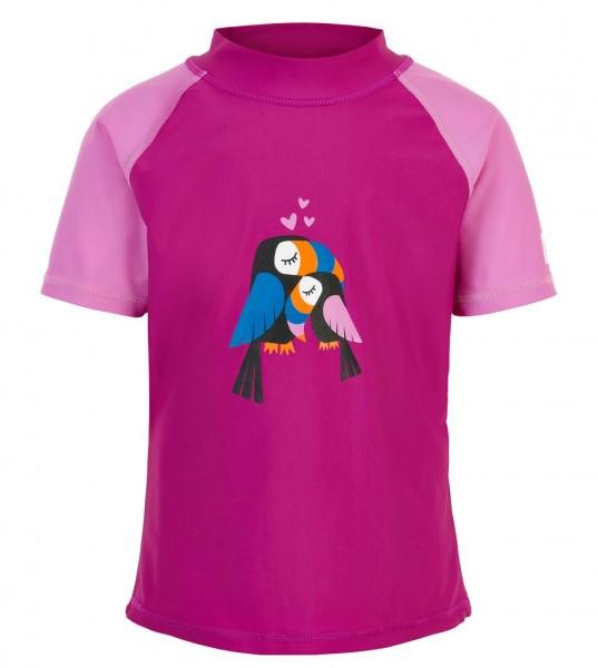 Color Kids ELINE Mädchen UV Schutz Shirt pink/rosa Papagei