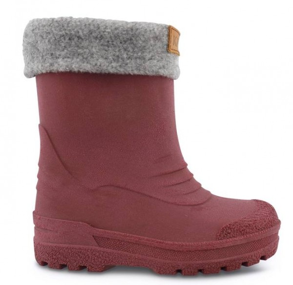 Kavat GIMO bordeaux Winter Thermo Gummistiefel mit Wollfutter