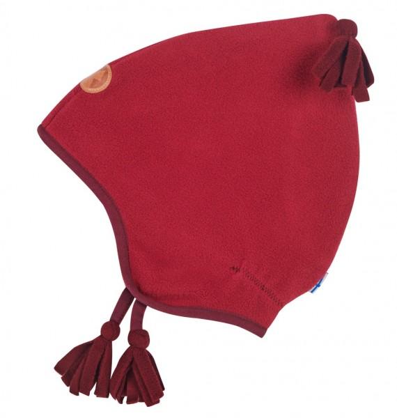 Finkid Pipo persian red/cabernet Mädchen Fleecemütze