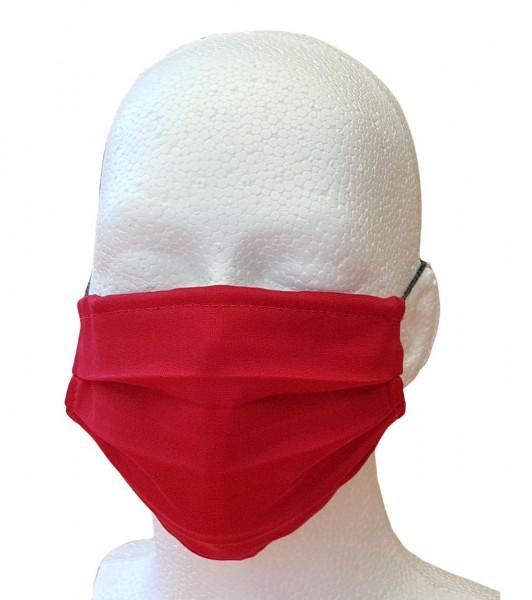 Mund-Nasen-Maske für Erwachsene rot
