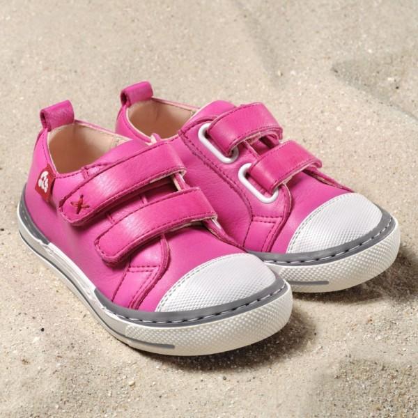 Pololo Sneaker Kinderschuhe SOL pink aus Ökoleder