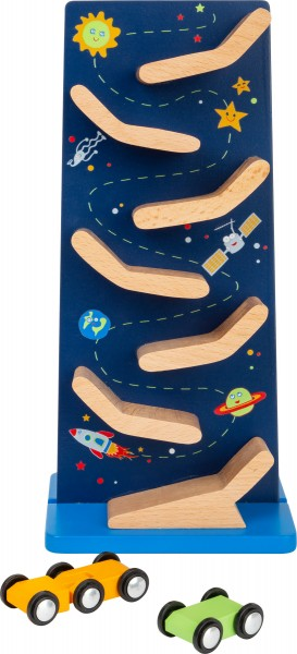 Space Rennbahn Kaskadenturm Holz